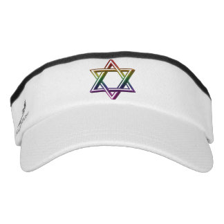 Estrella metálica del arco iris de David Visera