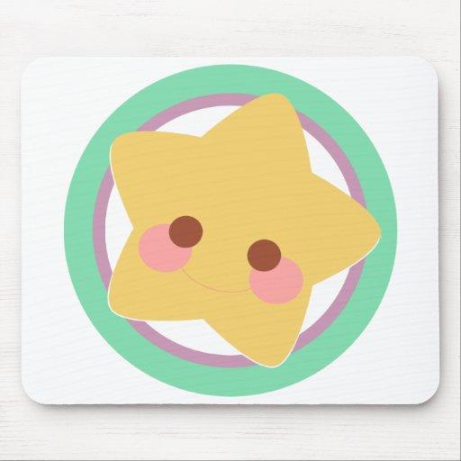 Estrella moderna tapete de ratón