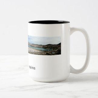 Estrella Mountains, AZ Two-Tone Coffee Mug