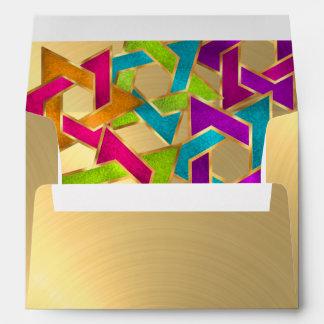 Estrella multicolora del oro de David Sobres