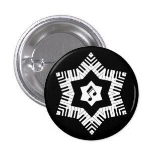 Estrella musical pins