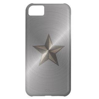 Estrella náutica de acero carcasa para iPhone 5C