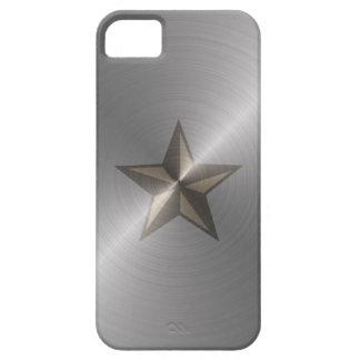Estrella náutica de acero funda para iPhone SE/5/5s