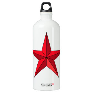 Estrella náutica roja