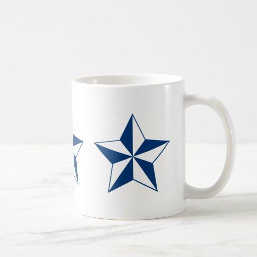 Estrella náutica taza clásica