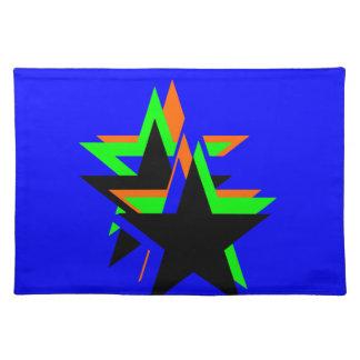 Estrella negra mantel