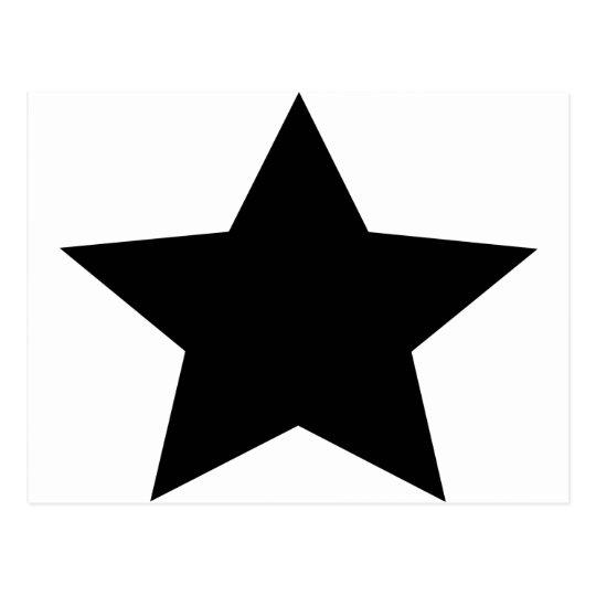 estrella negra postales