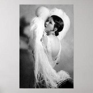 Estrella Norma Talmadge de la película muda Póster