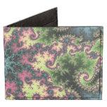 Estrella oriental - arte colorido del fractal que billeteras tyvek®