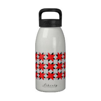 Estrella pálida del bloque del edredón botellas de beber