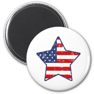 Estrella patriótica iman