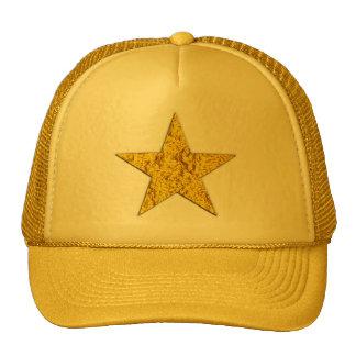 Estrella pepita de oro gorro