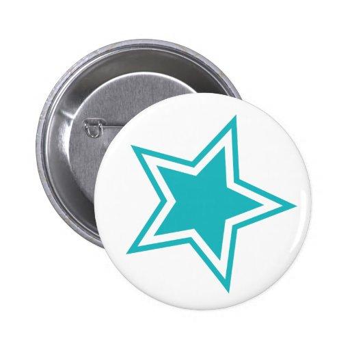Estrella Pin Redondo 5 Cm
