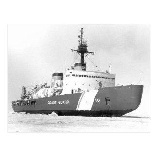 Estrella polar de USCGC Tarjeta Postal