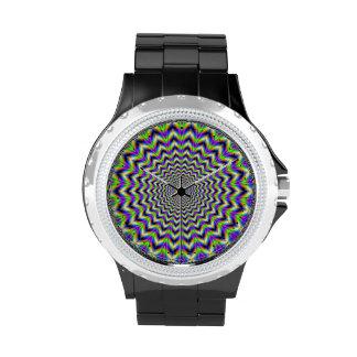 Estrella   psicodélica del reloj