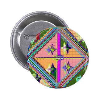 Estrella púrpura de NOVINO - serie del arte curati Pin
