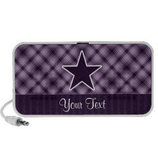 Estrella púrpura iPhone altavoz