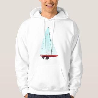 Estrella que compite con la clase olímpica del suéter con capucha