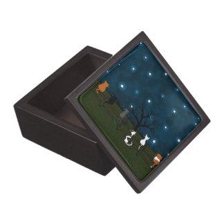 """""""Estrella que mira"""" la caja de regalo superior Caja De Joyas De Calidad"""