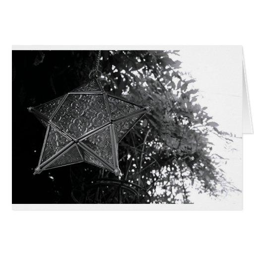 Estrella que vuela felicitacion