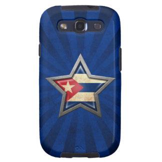 Estrella rays.jpg de Cuba Galaxy S3 Cárcasa
