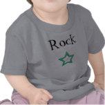 estrella, rock - modificado para requisitos camisetas