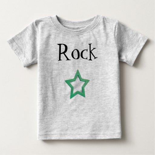 estrella, rock - modificado para requisitos remeras