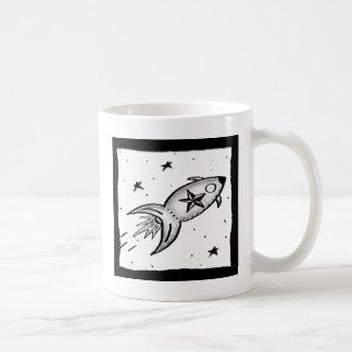 Estrella Rocketship - nd Taza De Café