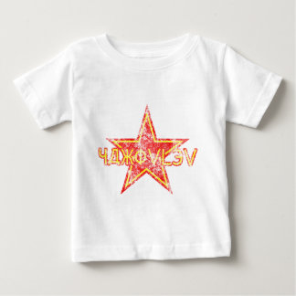 Estrella roja de Yakovlev llevada Playera De Bebé