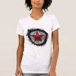Estrella roja del soldado del invierno camiseta