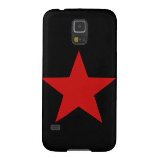 Estrella roja funda para galaxy s5