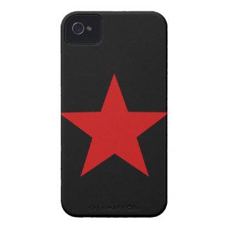 Estrella roja iPhone 4 cárcasas