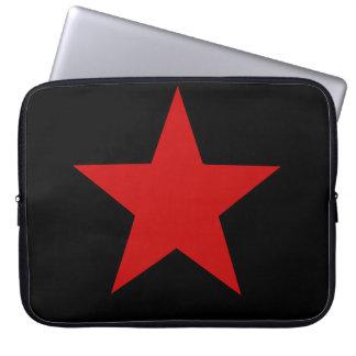 Estrella roja manga portátil