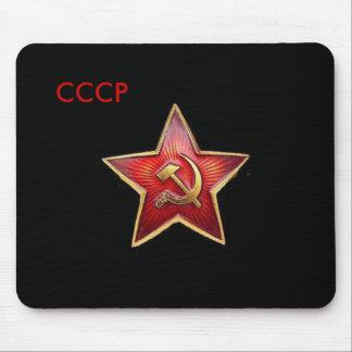 Estrella roja Mousepad de CCCP