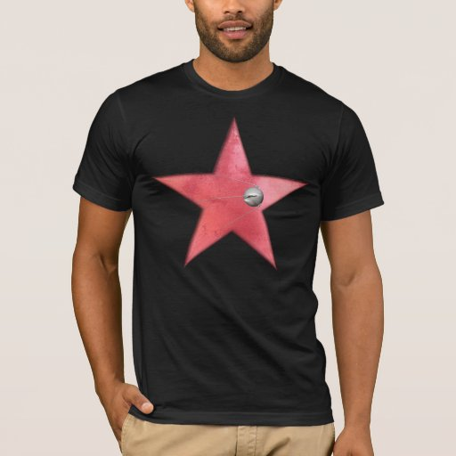 estrella roja + Sputnik 1 Playera