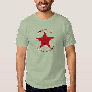 Estrella roja Zapatista Playera