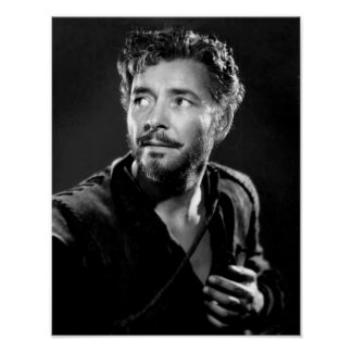 Estrella Ronald Colman de la película muda Póster
