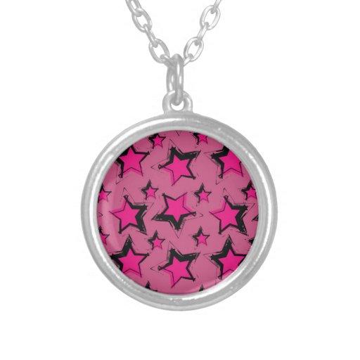 Estrella rosada design.jpg pendientes