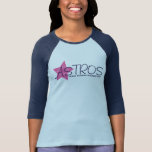 Estrella rosada elemental de Astros Frank Borman Camiseta