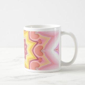 Estrella rosada taza