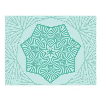 Estrella señalada siete postales