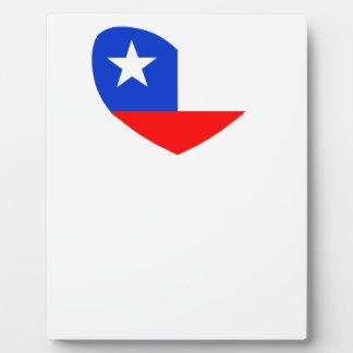 Estrella solitaria de Tejas Placas De Madera