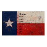 Estrella solitaria tarjetas de visita