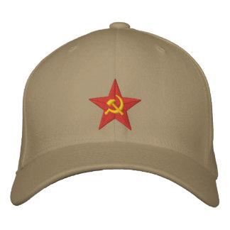 Estrella soviética gorra de beisbol bordada
