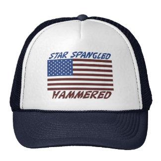 Estrella Spangled martillada Gorras De Camionero
