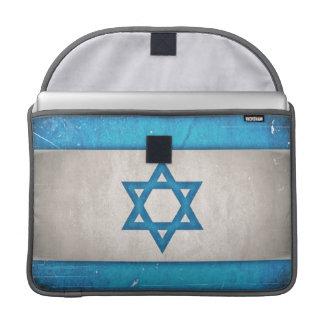 Estrella sucia de la bandera de Israel de David Fundas Para Macbook Pro