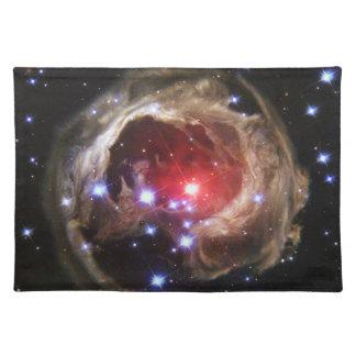 Estrella supergigante roja V838 Monocerotis Mantel