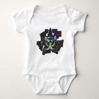 Estrella tóxica mameluco de bebé