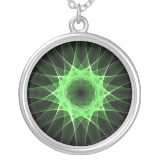 Estrella verde - collar
