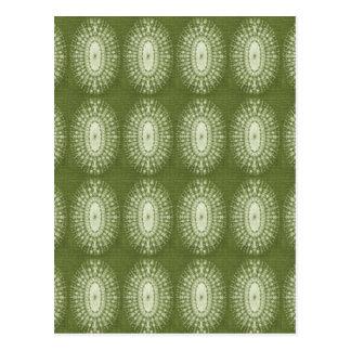 Estrella verde postales